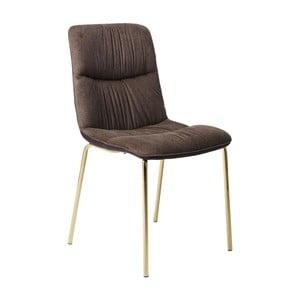 Tmavohnedá jedálenská stolička Kare Design Vegas Forever