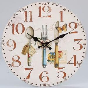 Drevené hodiny Culinaire