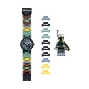 Hodinky s figúrkou LEGO® Star Wars Boba Fett