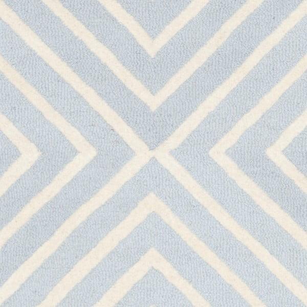 Vlnený koberec Prita Light Blue, 152x243 cm