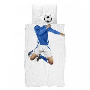Obliečky Snurk Soccer Champ Blue, 140 x 200 cm