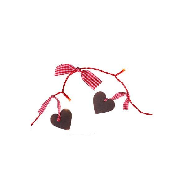 Svetelná LED reťaz Best Season Romantic Hearts