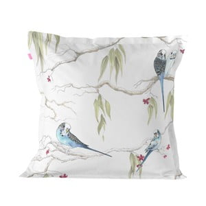 Bavlnená obliečka na vankúš Happy Friday Pillow Cover Eucalyptus, 60 × 60 cm