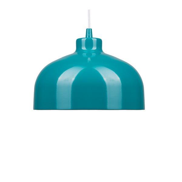 Tyrkysové stropné svetlo Loft You B&B, 22 cm