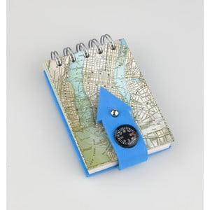 Poznámkový bloček Thinking gifts Compass Notes New York
