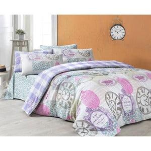 Obliečky s plachtou Mistreal Pink, 200x220 cm