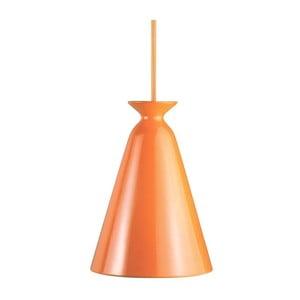 Závesné svetlo Curve, oranžová