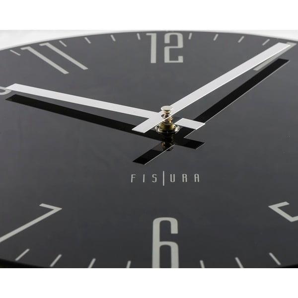 Hodiny Fisura Slim Black, 35cm