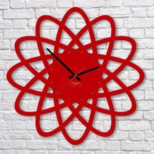 Nástěnné hodiny Red Elipse