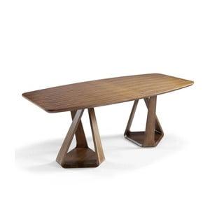 Jedálenský stôl z orechového dreva Ángel Cerdá Manolo, 220×100 cm