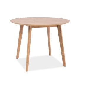 Jedálenský stôl Mosso Oak, 100x100 cm