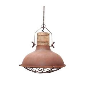 Kovové stropné svietidlo LABEL51 Grid, ⌀ 34 cm