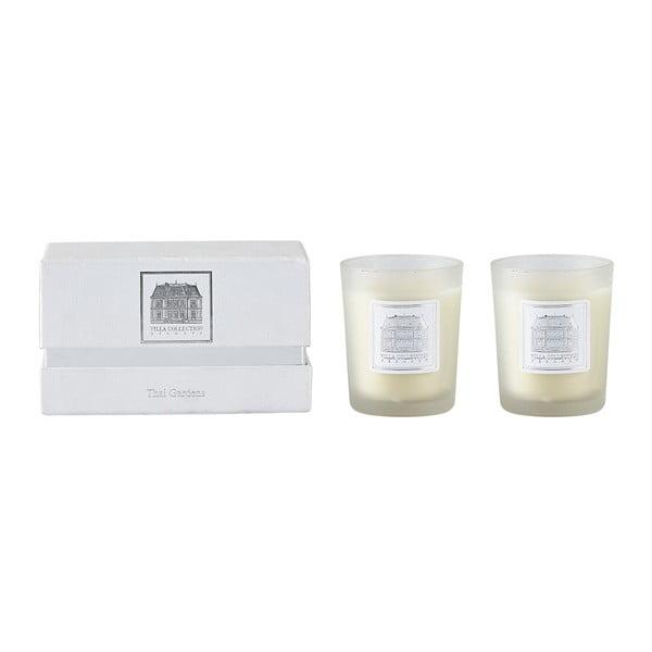 Sada 2 sviečok s vôňou thajskej záhrady Villa Collection