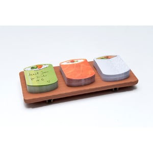 Sada poznámkových bločkov Thinking gifts Sushi Notes