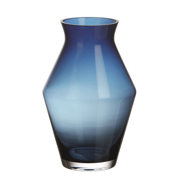 Váza Glass Blue, 25 cm