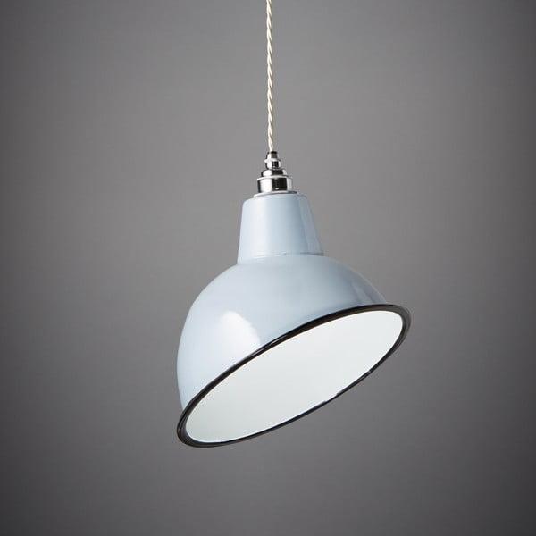 Závesné svetlo Angled Cloche Grey