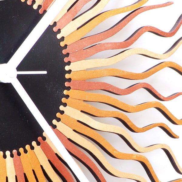 Drevené hodiny Medusa, 41 cm
