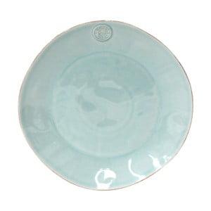 Tyrkysový servírovací tanier z kameniny Costa Nova, ⌀33 cm