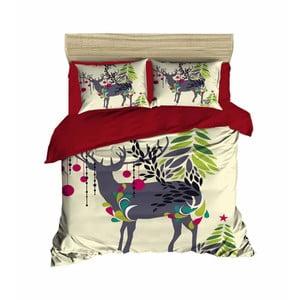 Vianočné obliečky na dvojlôžko Vera, 200×220 cm