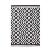 Čierny koberec Think Rugs Cottage,160×220cm