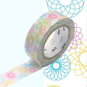 Washi páska Spirograph
