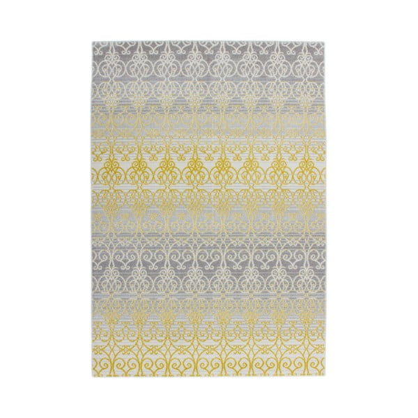 Koberec Kayoom Fusion 785 Yellow, 160 x 230 cm