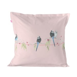 Bavlnená obliečka na vankúš Happy Friday Pillow Cover Parakeet, 60 × 60 cm