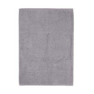 Sivá bavlnená kúpeľňová predložka CasaDiBassi Basic, 50x70cm