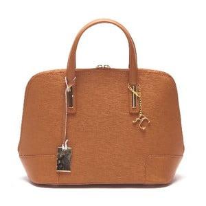 Kožená kabelka Renata Corsi 418 Cognac