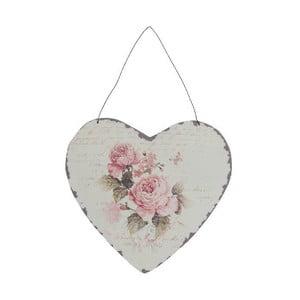 Dekoratívne závesné srdce Antic Line Antic Heart