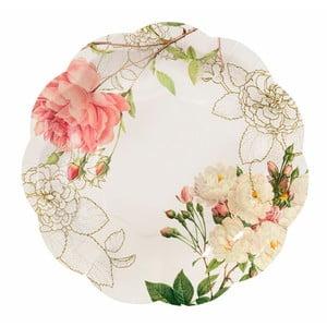 Sada 12 papierových tanierov Talking Tables Blossom