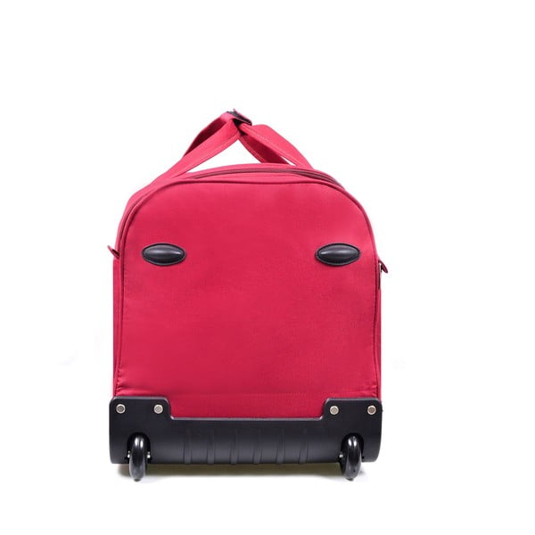 Ružová cestovná taška nakolieskach Hero, 43 l