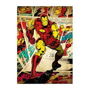 Nástenná ceduľa Marvel Silver Age - Iron Man