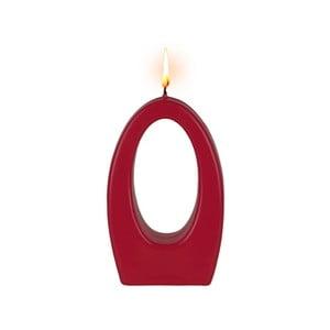 Červená sviečka Alusi Luna Una, 5 hodín horenia