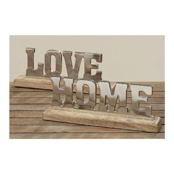 Dekorácia Love Home, 2 ks