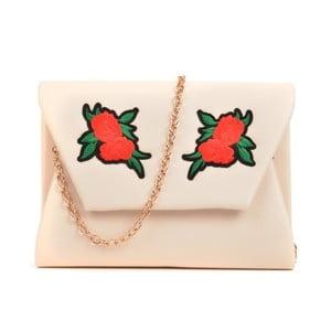 Béžová listová kabelka Mangotti Bags Belarosa