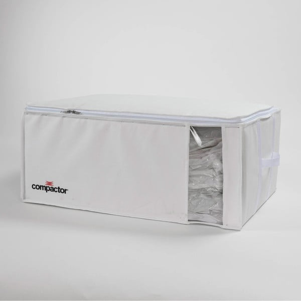 Vákuový skladovací box Compactor White