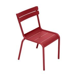 Sýtočervená detská stolička Fermob Luxembourg