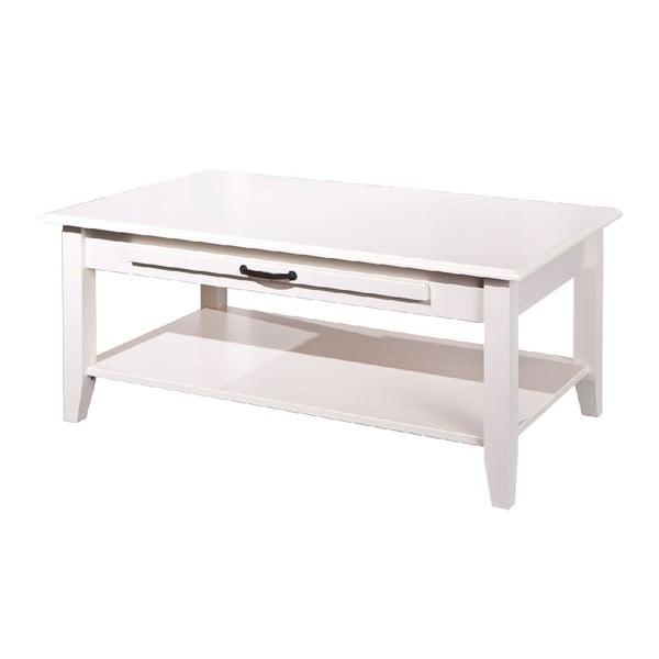 Biely drevený konferenčný stolík 13Casa Lossa