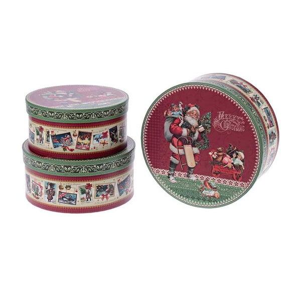 Set 3 boxov Santa