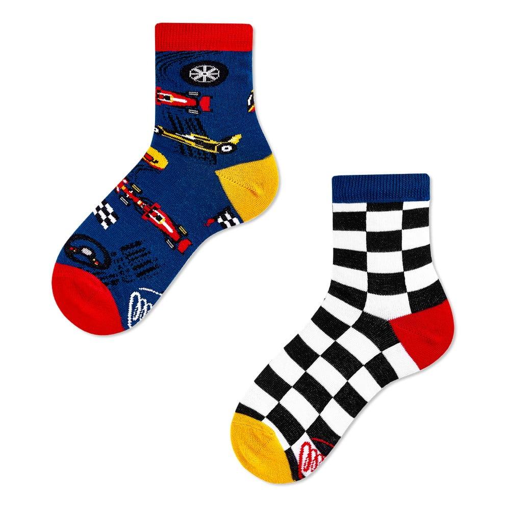 Detské ponožky Many Mornings Formula Racing, veľ. 27-30