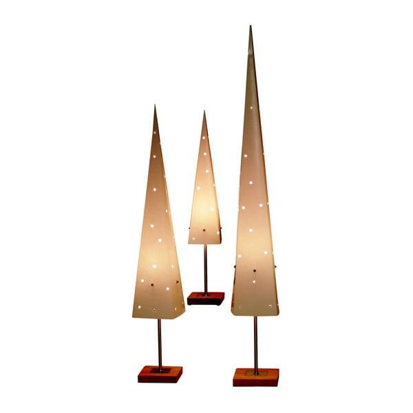 Svietiaci kužeľ so stojanom Best Season Cone Top, 80 cm