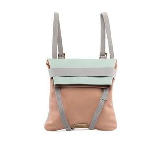 Kožený obojstranný batoh Maria/Maleta Alba