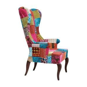 Kreslo Kare Design Patchwork Velvet