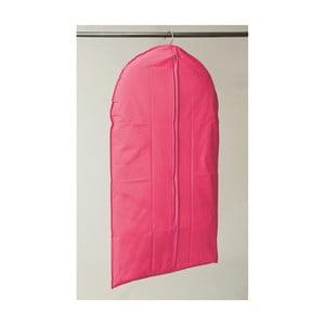 Textilný závesný obal na šaty Compactor Garment Hot Pink, 100 cm