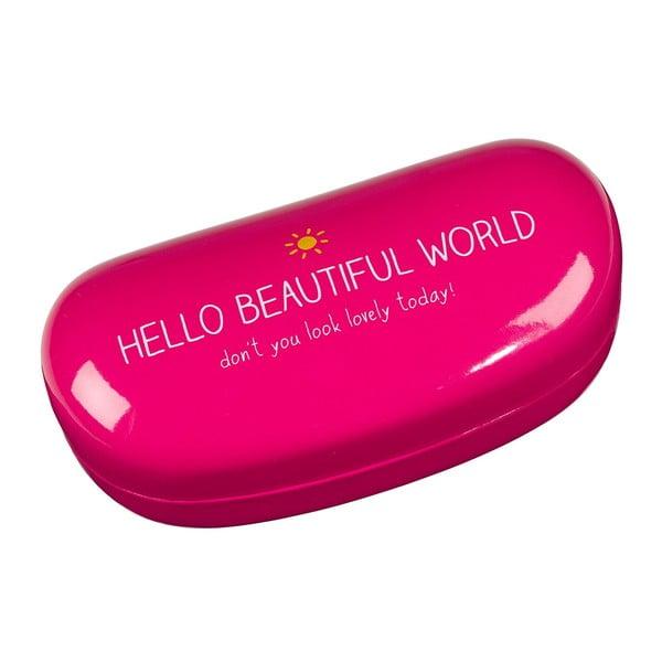 Puzdro na okuliare Happy Jackson  Hello Beautiful World