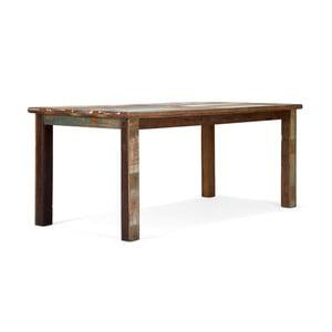 Jedálenský stôl z teakového dreva SOB Agra, 180x90cm