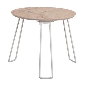 Biely príručný stolík Zuiver Side