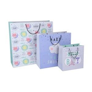 Sada 3 darčekových tašiek Tri-Coastal Design Hello Baby
