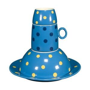 Detská porcelánové sada Ramponi Baby Turquoise